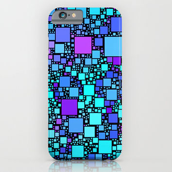 Post It Blue iPhone & iPod Case by Alice Gosling