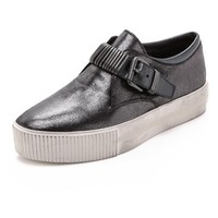 Ash Kiss Buckle Slip On Sneakers