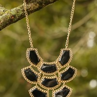 Set You Free Necklace-Black