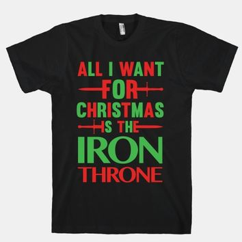 All I Want For Christmas Is The Iron Throne
