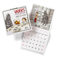 Vader's Little Princess 2015 Wall Calendar