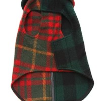 Ware of the Dog Medium Plaid Coat