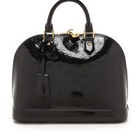 What Goes Around Comes Around Louis Vuitton Vernis Alma Bag