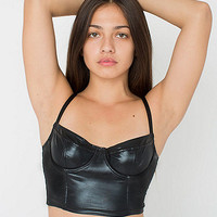 Lame Stretch Bustier