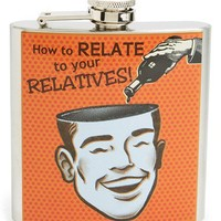 Barbuzzo 'Relatives' Stainless Steel Flask | Nordstrom