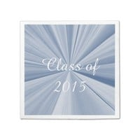 Class of 2015 Blue Paper Napkins by Janz