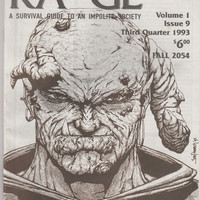KA*GE Magazine;  V1, 9. VF+ 3rd Quarter 1993. Awol Productions