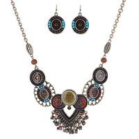 Mayan Princess Statement Necklace