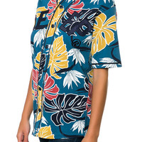 The Birds Of Paradise Jersey in Blue