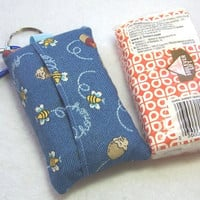 Tissue Holder, Tissue Cozy, Bees and Honey