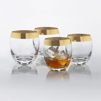 Fifth Avenue Whiskey Glasses - Set of 4