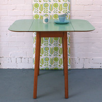 Winter's Moon ? Vintage blue/ Green Formica Table - SOLD