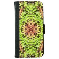 Abstract Pattern iPhone6 Wallet Cases