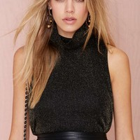 Nasty Gal Skyline Turtleneck Top