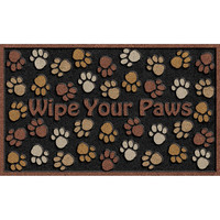 Apache Mills CleanScrape Deluxe Wipe Paws Mat