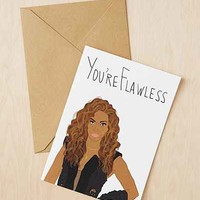 Tay Ham Youre Flawless Bey Card - Urban Outfitters
