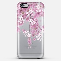 CHERRY SPRING iPhone 6 plus transparent case iPhone 6 case by Monika Strigel | Casetify