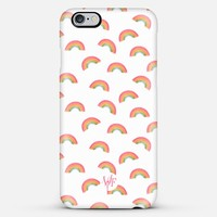 Watercolor Rainbows iPhone 6 Plus case by wonder forest | Casetify