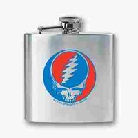 Grateful Dead Steal Your Face Flask