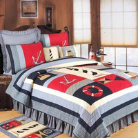 Atlantic Isle Luxury Oversized Quilt | Atlantic Linens
