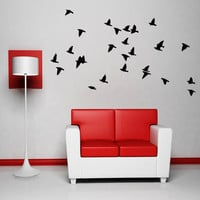 Flying Birds Wall Art Decor Vinyl Sticker Dining Bedroom Living Room
