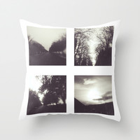 Roads I Throw Pillow by SensualPatterns