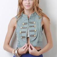 Freddie Darling Denim Vest