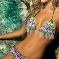 Oasis Triangle Bikini by Paradizia Swimwear 1010/2040/Oasi