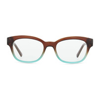 amilia rectangle readers, brown/blue - kate spade new york - Brown/Blue