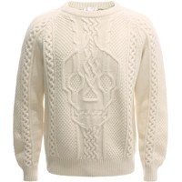 Men Crew-neck - Men Knitwear on ALEXANDER MCQUEEN Online Store