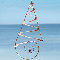 Copper-Plated Wind Spiral - Wind and Weather