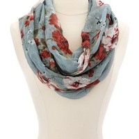 Cherry Blossom Infinity Scarf: Charlotte Russe