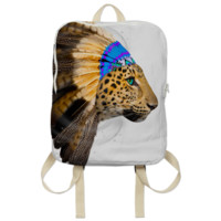 Fight For What You Love • Chief of Dreams: Amur Leopard v.2 Backpack created by soaringanchordesigns | Print All Over Me