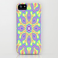 kaleidoscope Rainbow iPhone & iPod Case by Colorful Art