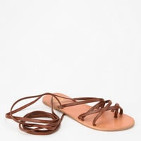 Ecote Grecian Lace-Up Sandal