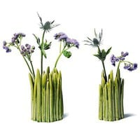 GREEN GRASS VASES | Grassy, Vase, Blades, Yard, Patch, Flowers, Bud | UncommonGoods