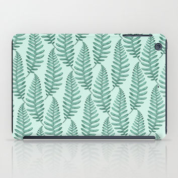Botanical Leaf Pattern iPad Case by Heart of Hearts Designs