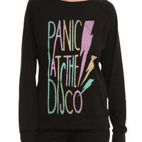 Panic! At The Disco Lightning Bolt Pullover Top
