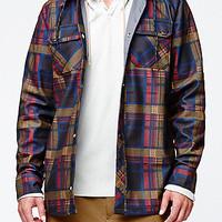 Volcom Hood Riding Flannel Snow Jacket at PacSun.com