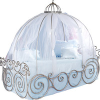 Disney Princess 4 Pc Full Carriage Bed
