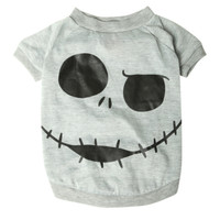 The Nightmare Before Christmas Jack Face Dog T-Shirt