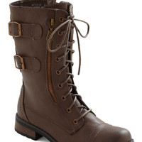 Tread and Done Boot | Mod Retro Vintage Boots | ModCloth.com