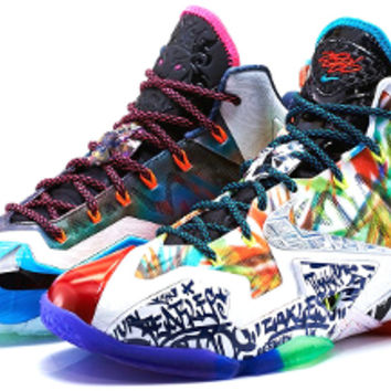 Buy the Nike Lebron 11 WTL What the Lebron Shoes