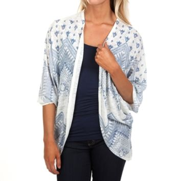 Moa Moa Juniors Printed Cocoon Cardigan at Von Maur