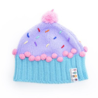 Dylan's Candy Berry Blue Cupcake Hat | Dylan's Candy Bar