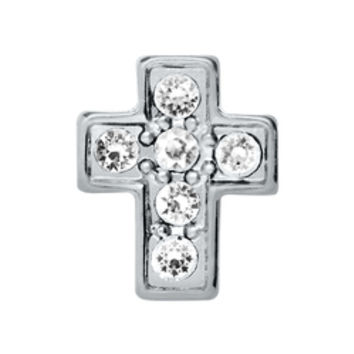Crystal Silver Cross