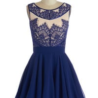 Chi Chi London Long Sleeveless Fit & Flare Adore the Dance Floor Dress