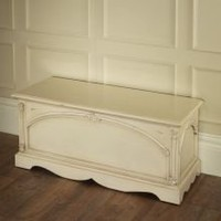 Victorian Antique Blanket Box