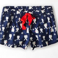 AEO Women's Aerie For  Printed Boxer