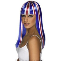 Union Jack Glamourama Wig - Union Jack Shop - Union Jack Clothing Union Jack Flag